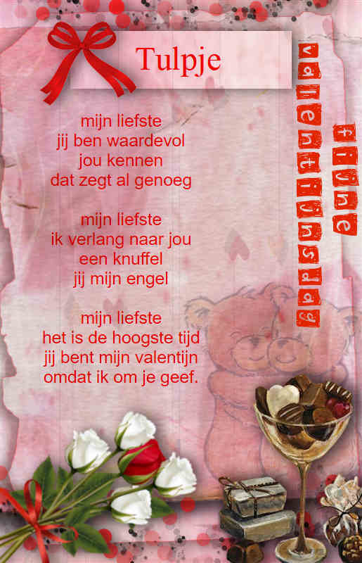 Verwonderend Winnaar Maandag thema Gedicht 14-02-19 SP-92